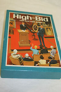 VINTAGE NEW 3M BOOKSHELF HIGH BID 1968 FINANCIAL AUCTION STRATEGY BOARD GAME