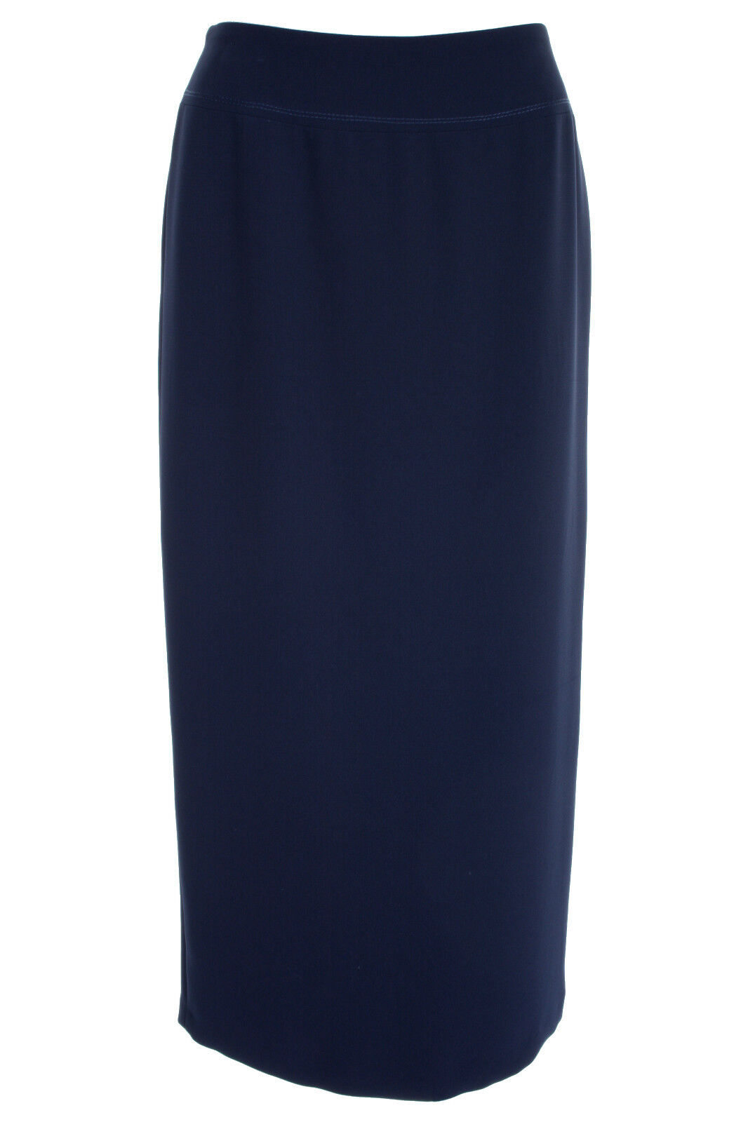Busy Womens Navy Long Skirt, Sizes 10 To 26