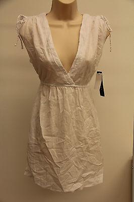 Ralph Lauren Cover Up Dress Size Xl White Adj. Shoulder
