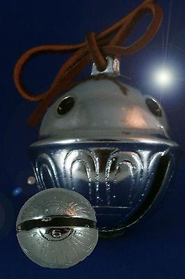 Polar Bear Express CHROME Reindeer Bell # 6 Have a 6 yr old? Help them BELIEVE!
