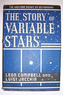 1945 The Story Of Variable Stars  By Leon Campbell  Luigi Jacchia  Astronomy