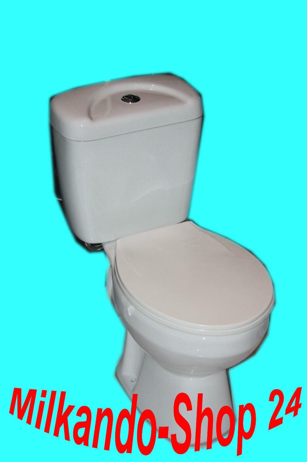 wc toilette stand komplett set mit sp lkasten komplett aus keramik inkl wc sitz eur 127 00. Black Bedroom Furniture Sets. Home Design Ideas