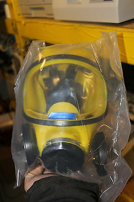 Msa Ultra Twin Yellow Mask Really Nice Large
