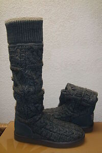 UGG-OVER-THE-KNEE-TWISTED-CABLE-GREY-GRAY-KNIT-US-10-EU-41-UK-8-5-NEW
