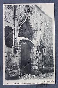 Carte postale ancienne nevers porte de l 39 ancienne cour for Porte carte postale sur pied