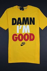 NWT Nike Men's DAMN I'M GOOD t-shirt IM new