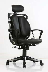 Ergonomic High Back Black Office Chair in Air Mesh Fabric & Memory Foam Chairs