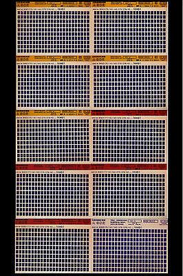 Liebherr A 902_1993_Ersatzteilliste_Katalog_Liste_Microfiche_10 Stück_Fich_Film