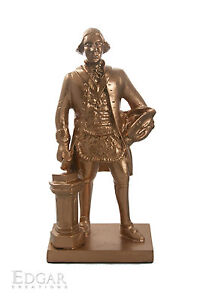 Handmade Masonic Sculpture [George Washington, The Freemason Statue]