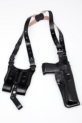 Desert Eagle Shoulder Holster Vertical - Black (9900 Blk)