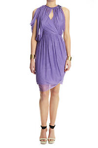 Lisa Ho - SILK TULLE DRAPED DRESS