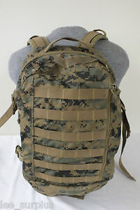 GEN-II-USMC-ILBE-MARPAT-ASSAULT-PACK-BACKPACK-Woodland-Digital-US-MARINE-ISSUE