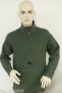 POLARTEC-FLEECE-PULLOVER-GREEN-MARINES-PECKHAM-SMALL-GENUINE-US-MILITARY-VG-EXC