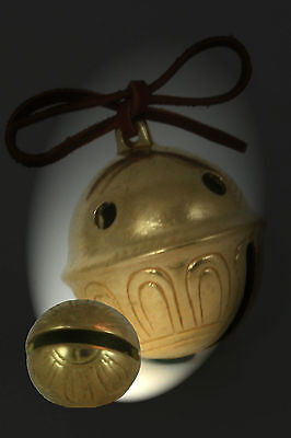 Polar Bear Express Bell # 1 Brass Sleigh Bell   We have all sizes & Numbers