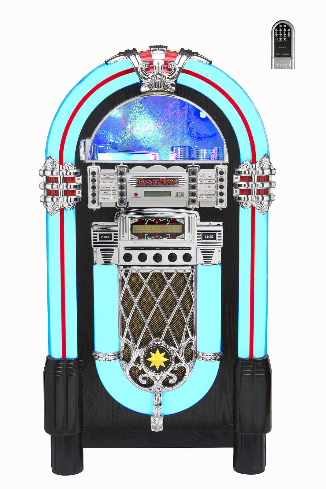 Brand Jukebox Am/fm Radio+ Cd + Usb Rrp $1499