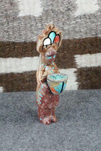 Corn Maiden Zuni Fetish Carving - Michael Mahooty