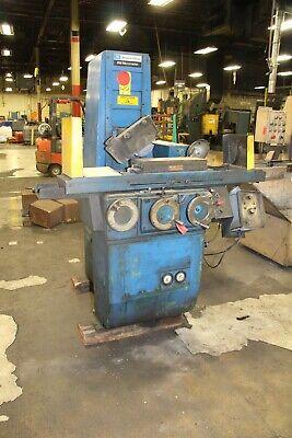 8 X 18 Brown Sharpe 818 Surface Grinder Yoder 65941