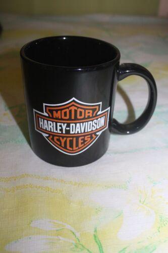 Harley Davidson Motorcyles Black Coffee Mug Cup Mariana Islands