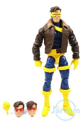 """Marvel Legends 6"""" Inch 80 X-Men 3-Pack Love Triangle Cyclops Loose Complete"""