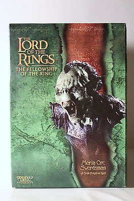 Sideshow Weta - The Lord of the Rings: Moria Orc Swordsman Polystone Bust