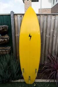 Corey Graham Shapes 7' retro style Surfboard