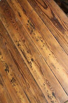 Reclaimed 6 Inch Wide Victorian Pine Flooring Cladding Board Warwick Reclamation