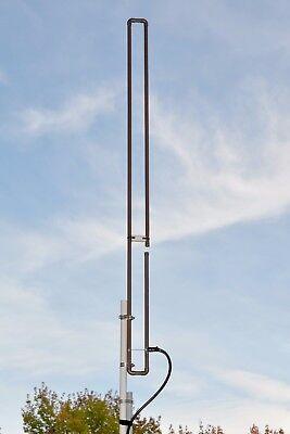 Authentic KB9VBR 2 Meter VHF SLIM JIM amateur ham radio J-Pole base antenna