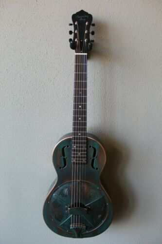 Brand New Recording King RM-993-VG Metal Body Parlor Resonator Guitar