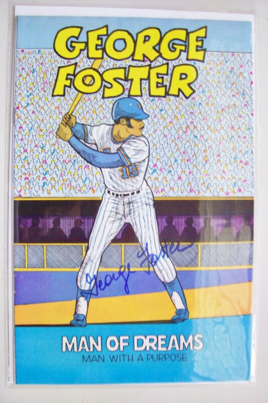 1982 MAN OF DREAMS Comic Book Signed by GEORGE FOSTER