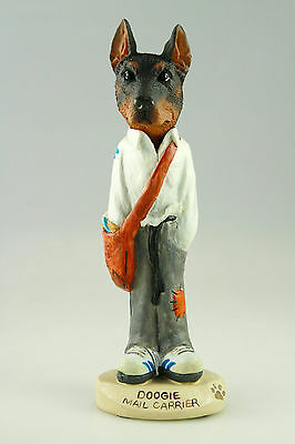 MAIL CARRIER DOBERMAN- SEE INTERCHANGEABLE BREEDS & BODIES @ EBAY STORE