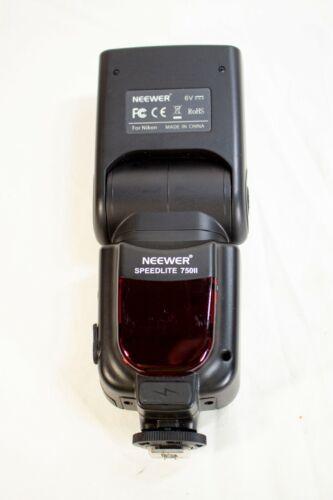 Neewer Speedlite 750II E-TTL Flash for Nikon