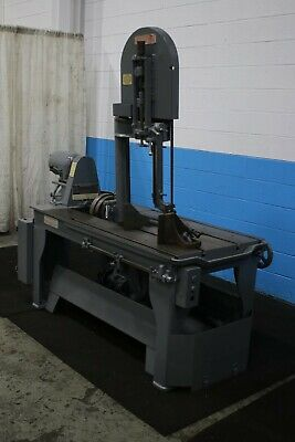 18 X 25 Marvel Extra High Vertical Bandsaw Stock 67490