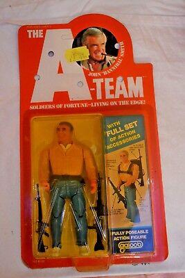 Vintage Galoob A-Team Figure John Hannibal Smith; Unopened; 1983