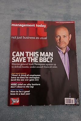 Management Today Magazine: September 2009, Mark Thompson BBC DG