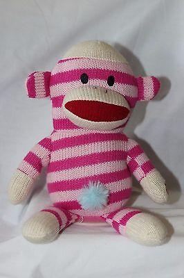 Pink Gemmy Sock Monkey Animated Sings Rihanna Only Girl in the World - Sock Monkey Girl