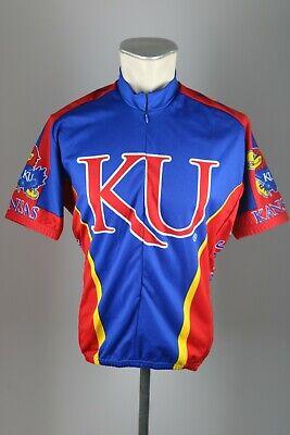 Kansas KU Jayhawks Radtrikot Gr. L 58cm Fahrrad cycling jersey Bike Rad (Kansas Bike Jersey)