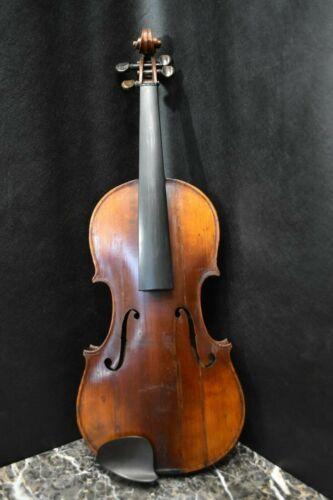 Rare Antique German Violin 4/4 Restored by Famed Luthier Oliver Fraser in 1905
