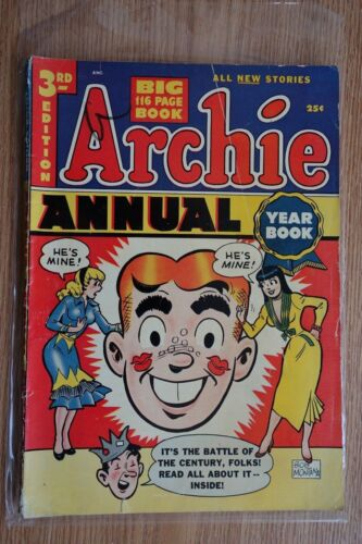 Archie Comics Annual #3 (1951) Gold Age Comic Book