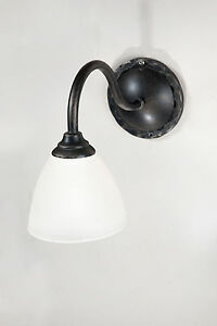 Wrought iron wall lights ebay