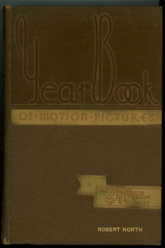 1936 Film Daily Year Book of Motion Pictures Annual Robert North