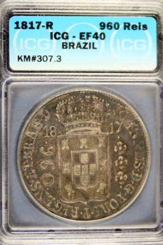 1817 R ICG EF40 BRAZIL 960 REIS!!  #B16476