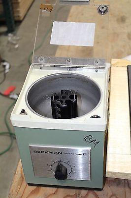 Beckman Microfuge B Centrifuge