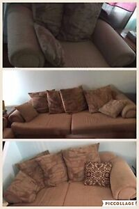 3 piece set.. Large coutche , love seat and chair