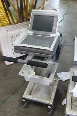 Ge Mac 5500 Ecg Ekg Analysis System With Cart