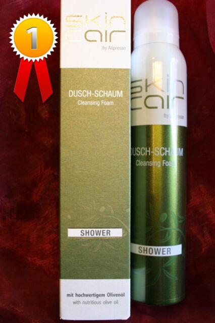 Allpresan Skincair Olive Dusch-Schaum 200 ml Feuchtigkeitspflege beim Duschen