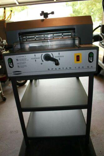 CHALLENGE PAPER CUTTER SPARTAN MODEL 150 SA