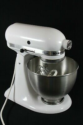 KitchenAid Classic Stand Mixer K45SS Tilt Head 10 Speed, Bowl, Whip, Dough Hook