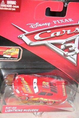 "DISNEY PIXAR CARS 3  ""#95 RUST-EZE LIGHTNING MCQUEEN"" BONUS COLLECTOR CARD"