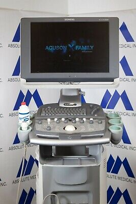 Ultrasound From Siemens Acuson X300shared Ultra Sound Systemprobes Available