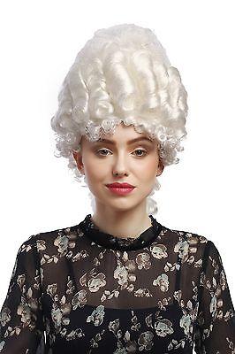 val Historisch Barock weiß Marie Antoinette Turmfrisur Adel (Marie Antoinette Perücke)